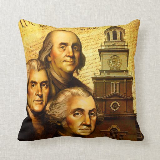 Founding Fathers Pillows