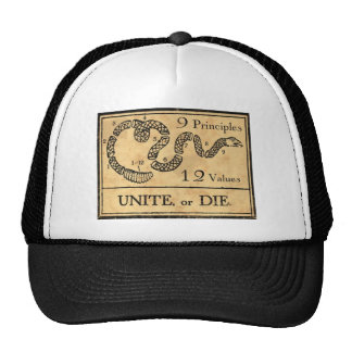 founding fathers mesh hat