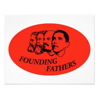 Founding Fathers Custom Invite