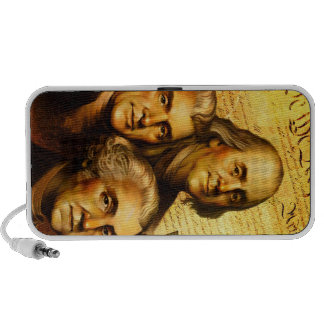 Founding Fathers iPod Speakers