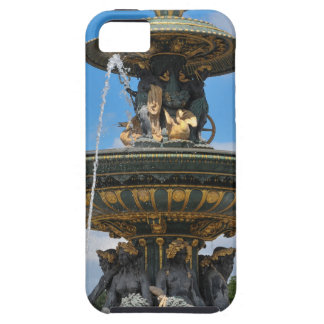 Fountain at Place de Concorde in Paris, France Case For The iPhone 5