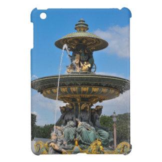 Fountain at Place de Concorde in Paris, France iPad Mini Covers
