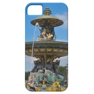 Fountain at Place de Concorde in Paris, France iPhone 5 Covers