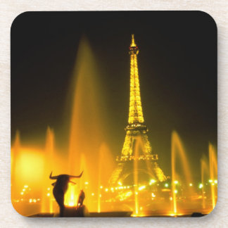 Fountain at the world famous Eiffel Tower Paris Coasters