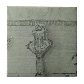 fountain ceramic tile