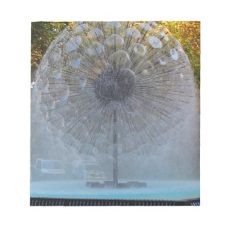 Fountain fantasy notepad