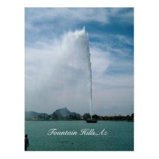 Fountain Hills Postcard