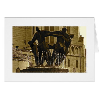 Fountain in East Liberty Card