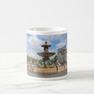 Fountain in Place de Concorde in Paris, France Coffee Mug