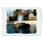 Fountain of Life Greeting Card