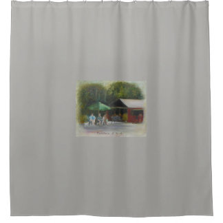 FOUNTAIN OF YOUTH 2 Shower Curtain