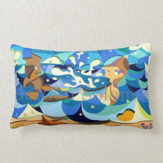 Fountain of youth pillow
