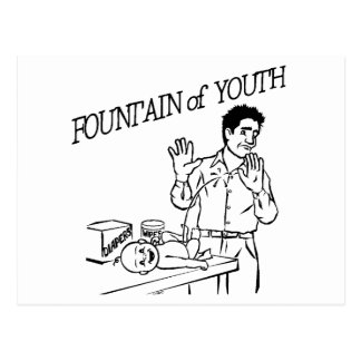 """""""Fountain of Youth"""" Postcard"""