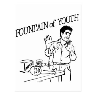 """Fountain of Youth"" Post Card"