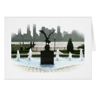 Fountain on the Hudson Card