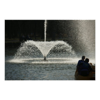 Fountain Poster