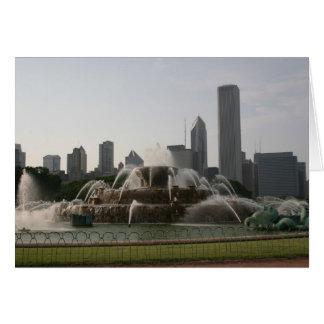 Fountain & Skyline Card