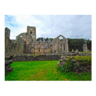 Fountains Abbey 1 Postcard