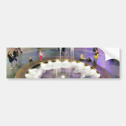 Fountains Malls Bumper Stickers