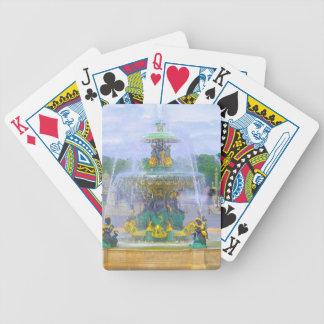 Fountains of Paris, I Poker Deck