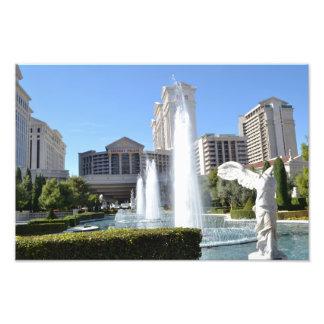 Fountains on the Strip, Las Vegas Photographic Print