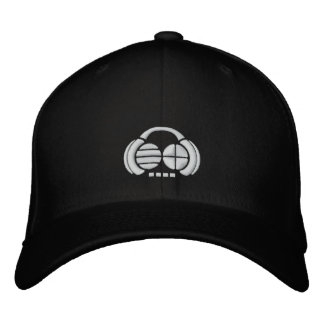 Four4ths - White logo front/side Embroidered Hat