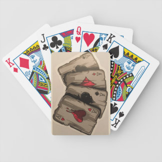 Four Aces Bicycle Playing Cards