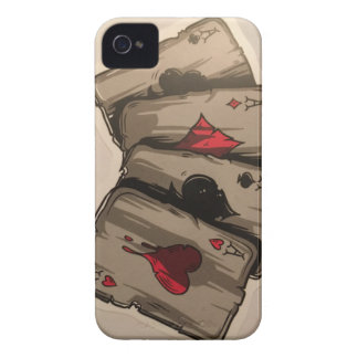 Four Aces iPhone 4 Case-Mate Case