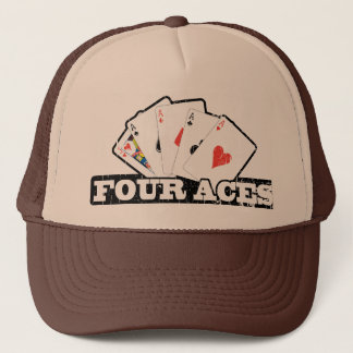 Four Aces Trucker Hat