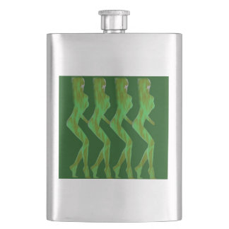 FOUR AMAZONS HIP FLASK