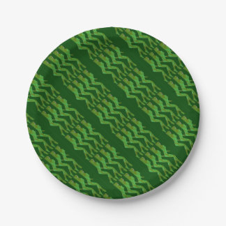 FOUR AMAZONS PAPER PLATE
