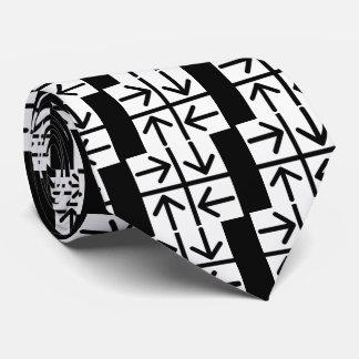 Four Arrows Pictograph Tie