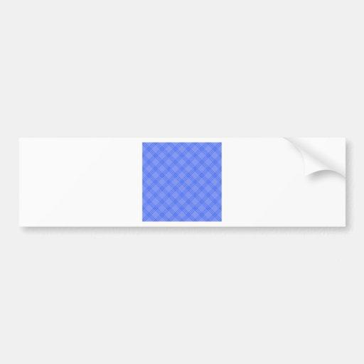 Four Bands Small Diamond - Blue1 Bumper Sticker