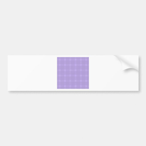 Four Bands Small Square - Violet2 Bumper Stickers
