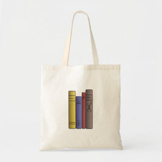 Four Books Tote Bag