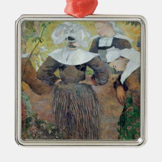 Four Breton Women, 1886 Christmas Ornament