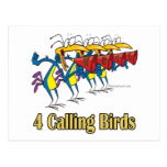 four calling birds 4th fourth day of christmas