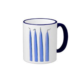 Four Candles/Fork Handles Ringer Mug