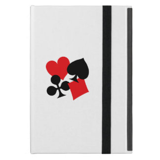 Four Card Suits Case For iPad Mini