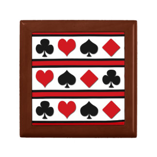 Four card suits gift box