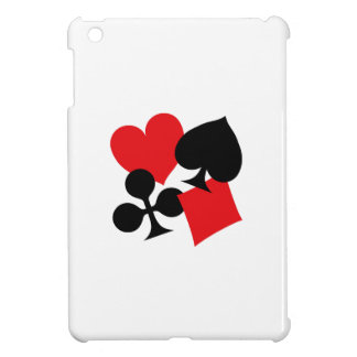 Four Card Suits iPad Mini Cover