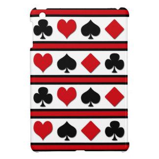 Four card suits iPad mini covers