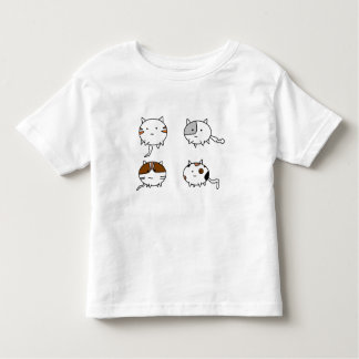 Four Cats Toddler T-Shirt