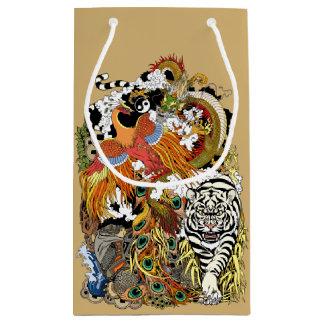 four celestial animals small gift bag