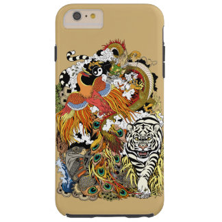 four celestial animals tough iPhone 6 plus case