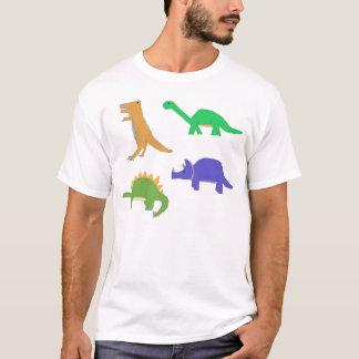 Four Classic Dinosaurs apparel T-Shirt