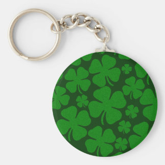Four Clover Leaves Key Chains