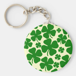 Four Clover Leaves Keychain