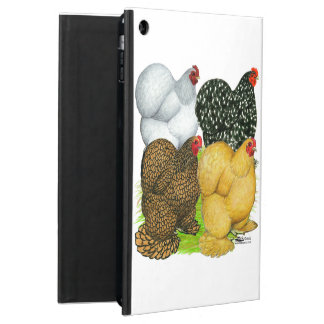 Four Cochin Hens Case For iPad Air