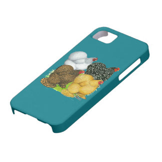 Four Cochin Hens Case For The iPhone 5